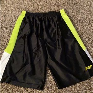 Other - Black green and white shorts